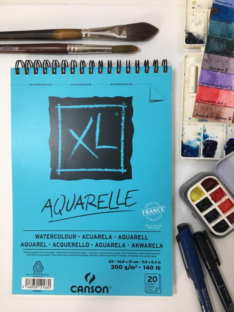 Canson XL Watercolour Paper Pad A5